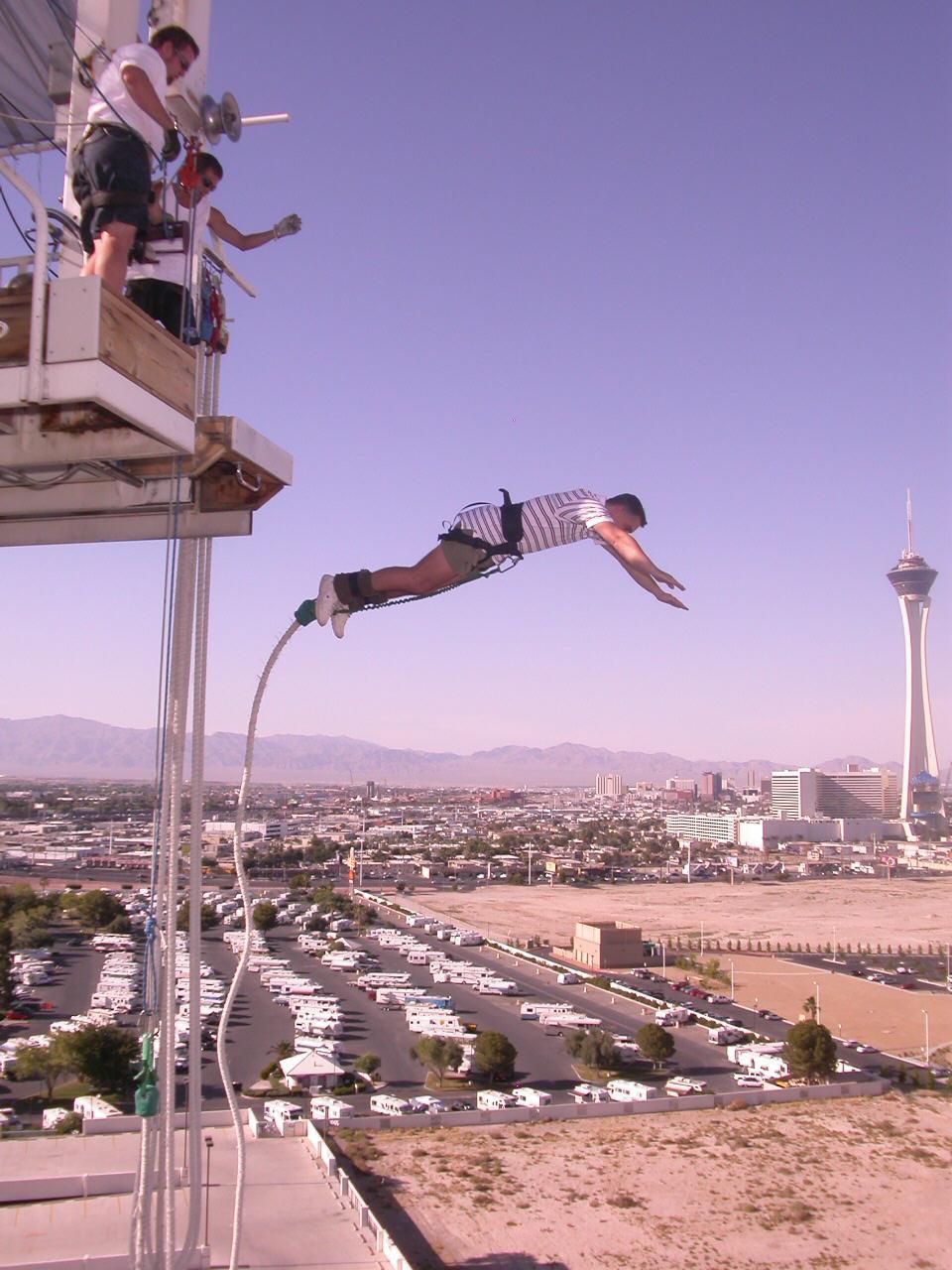 bungee jumping las vegas